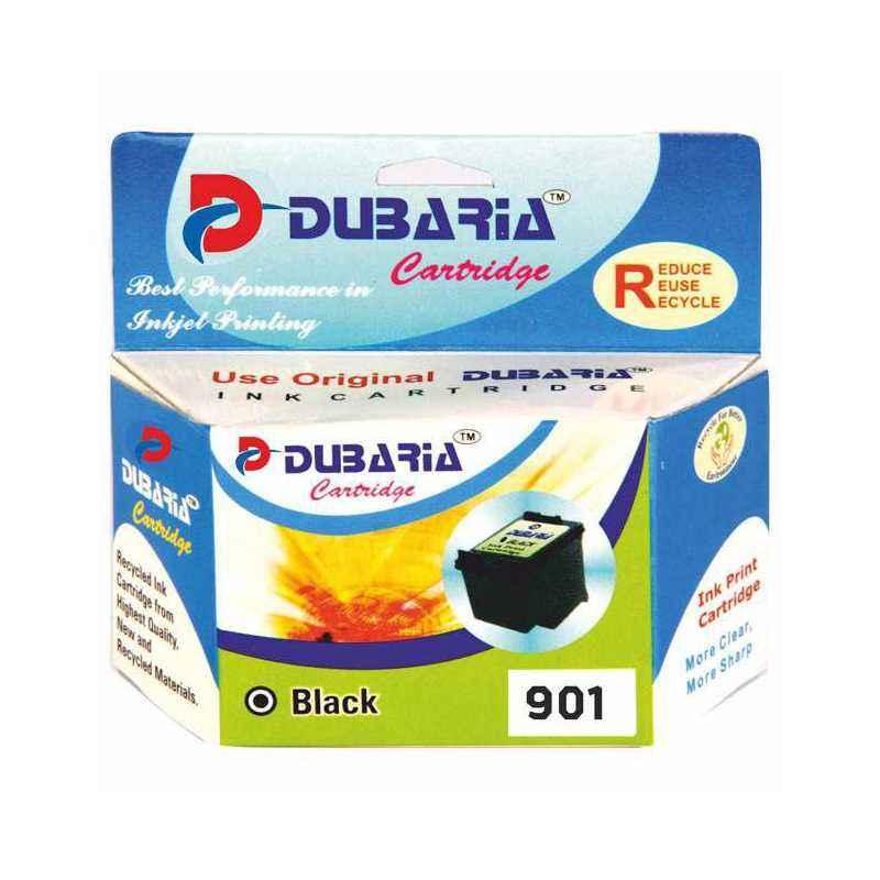 Dubaria 901 Black Ink Cartridge For HP 901