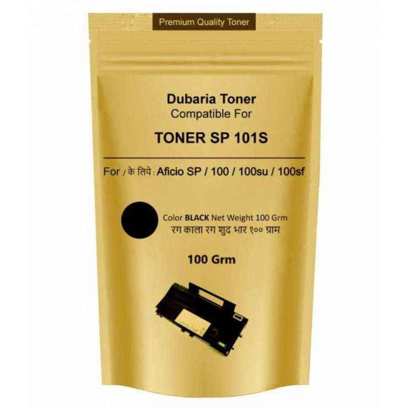 Dubaria Black Powder Toner Cartridge For Ricoh Printers (Pack of 3)