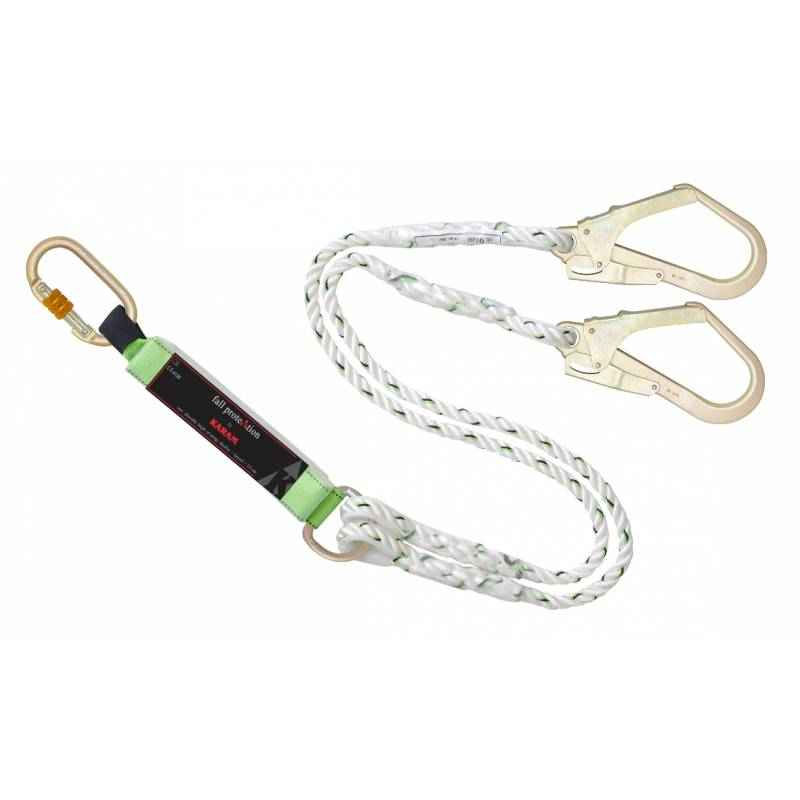 Karam 2m Twisted Rope E.A Forked Lanyard, PN 351