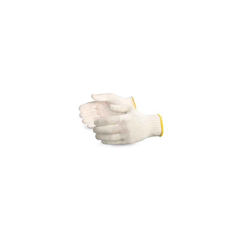Noble 35g White Cotton Knitted Gloves (Pack of 120)