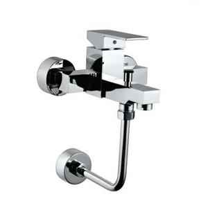 Jaquar KUB-CHR-35143F Kubix-F Wall Mixer Bathroom Faucet