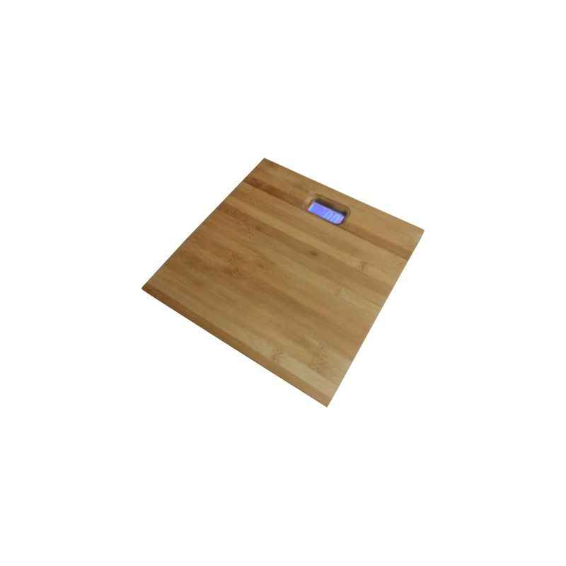 Virgo Digital Wooden Bamboo Body Weighing Scale, v-wood-square