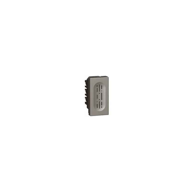 Legrand Arteor 6A 1 Way SP Square Magnesium Bell Call Indicator With Registor, 5736 15