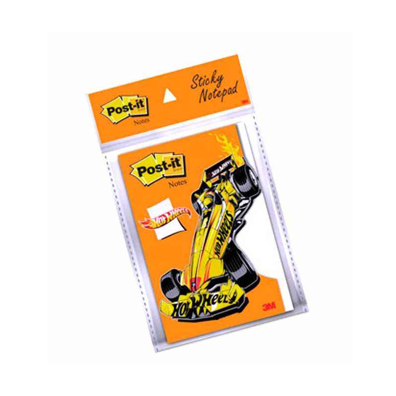 3M Post-it Hotwheels Value Added Notes, Size: 4 x 6 Inch (Pack of 10)