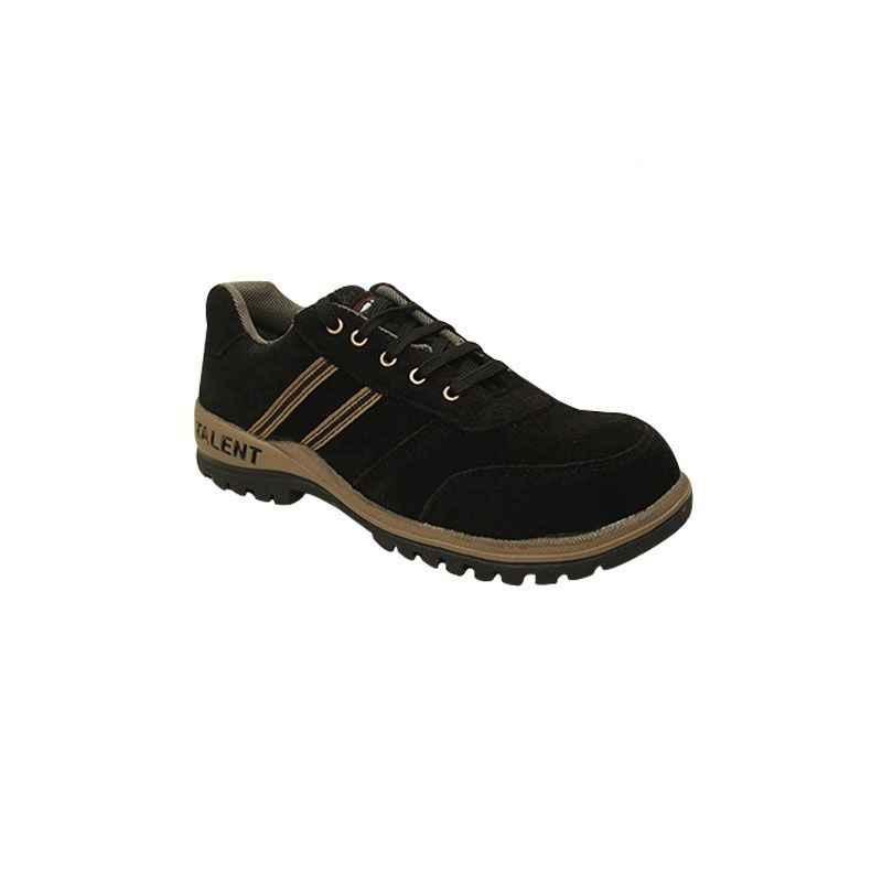NEOSafe Talent A5006 Steel Toe Black Safety Shoes, Size: 6