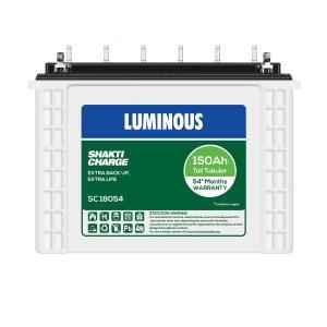 Luminous Shakti Charge 150Ah Tubular Battery, SC 18054