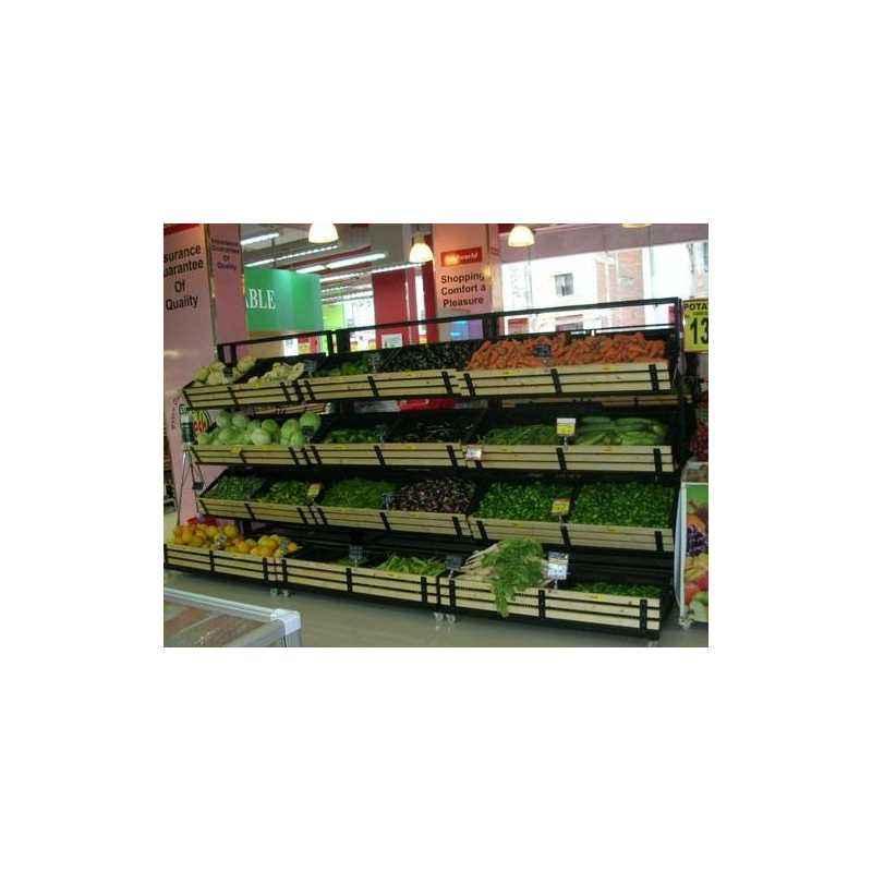 3 Layer Aluminum Vegetable Rack, Load Capacity: 50-100 kg
