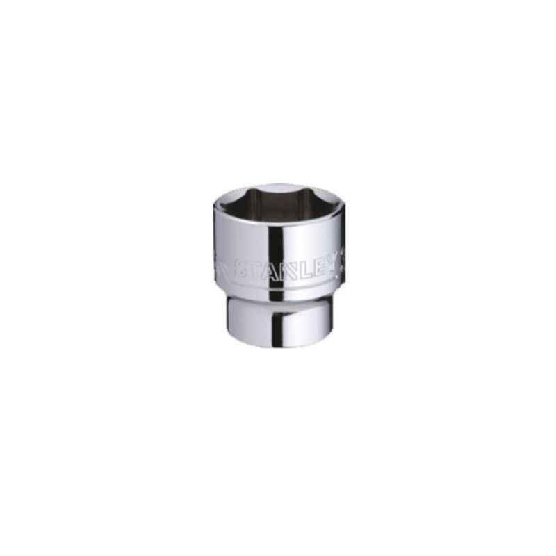 Stanley 3/4 Inch 6 PT Standard Socket, 19mm, STMT89319-8B-12 (Pack of 4)
