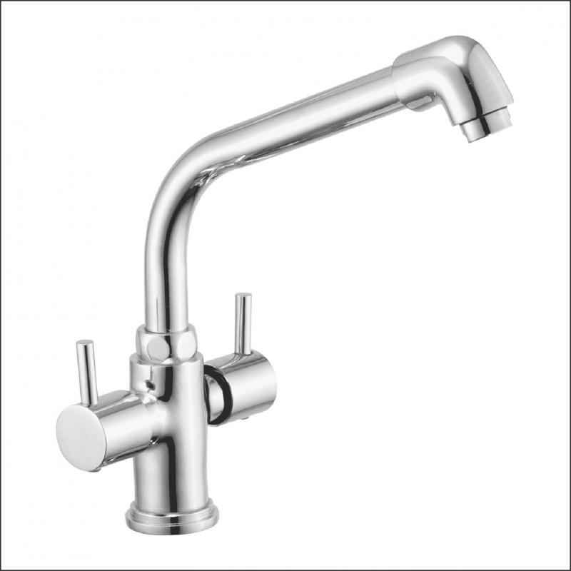 Jainex Robin Centre Hole Basin Mixer (Extended) with Free Tap Cleaner, RBN-6147