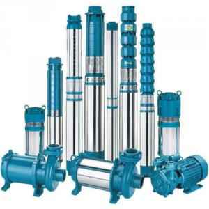 1HP 80LPM Borewell Submersible Pump