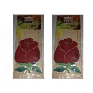 Abri 50g Rose Hanging Air Freshener, P36 (Pack of 2)