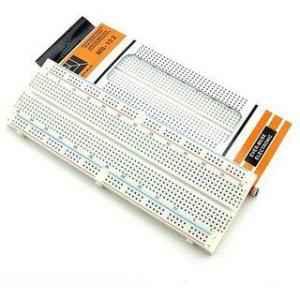Techtonics MB102 830 Points Solderless PCB Breadboard, TECH1434 (Pack of 3)
