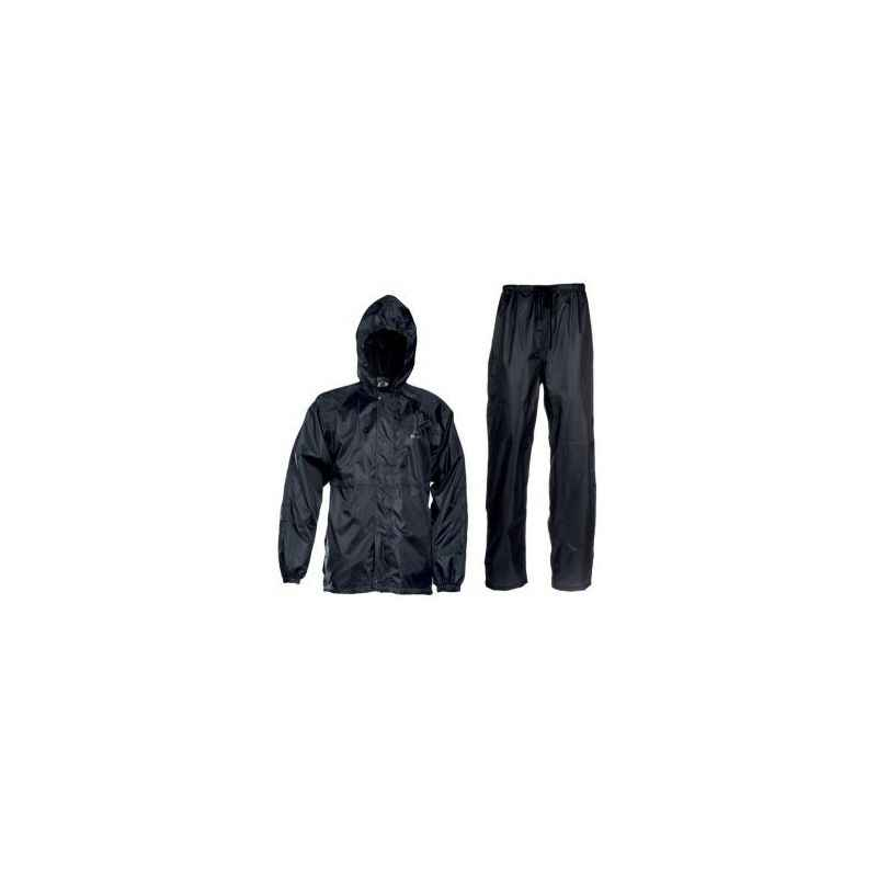 Evergreen Bikers Black Reversible Rain Suit