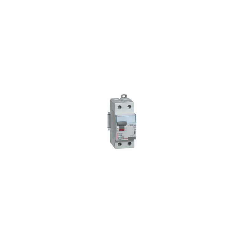 Legrand 40A DX³ 2 Pole RCCBs for AC Applications, 4118 57