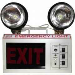 Palex Emergency Light Double Beam With Exit Sign