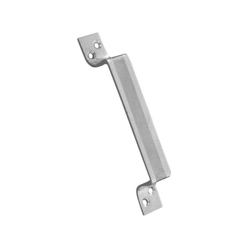 SmartShophar 4 Inch SS Silver Omen Cabinet Handle, 64720-SCH-SS04