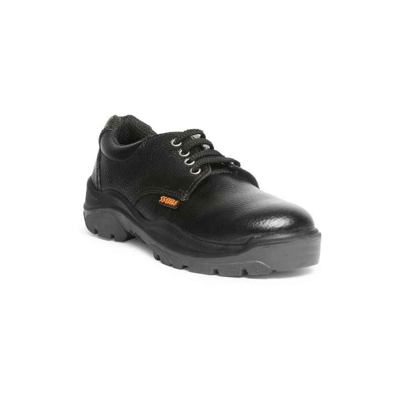 Acme AP-22 Storm Steel Toe Low Ankle Black Safety Shoes, Size: 7