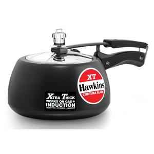 Hawkins Contura Black XT 3 Litre Pressure Cooker, CXT30