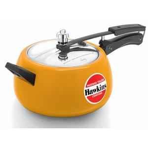 Hawkins Ceramic Coated Contura 5 Litre Apple Green Pressure Cooker, CMY50