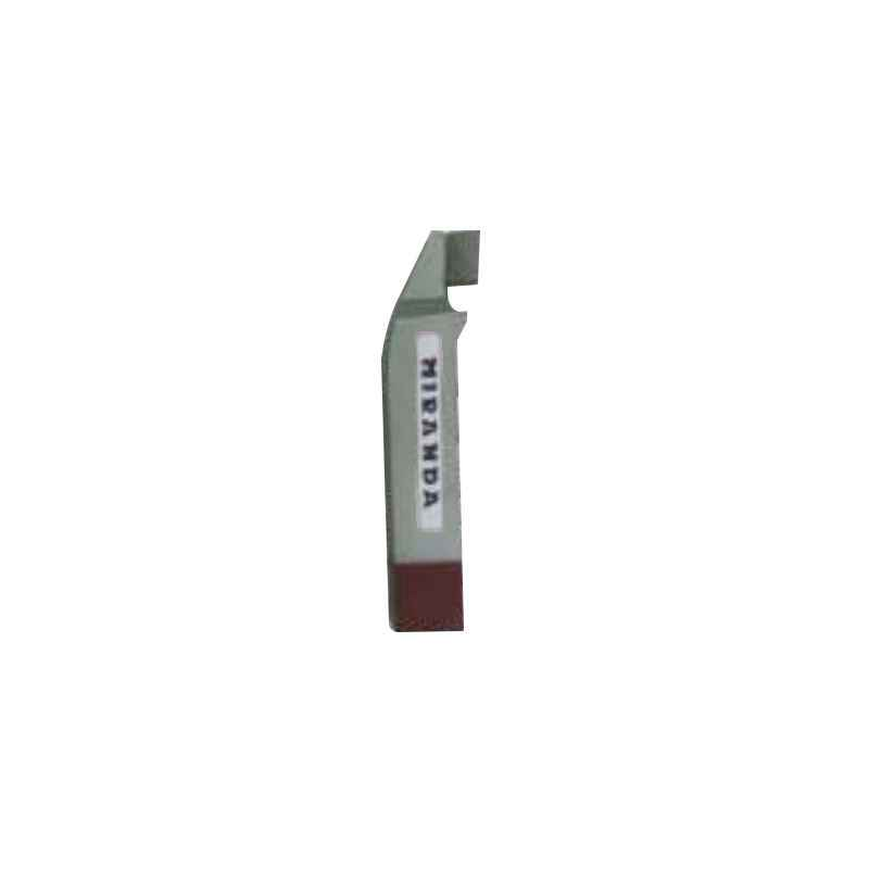 Miranda 16x16mm K20 Left Hand Tungsten Carbide Tipped Cranked Finishing Tool, 2231LC, Length: 110mm