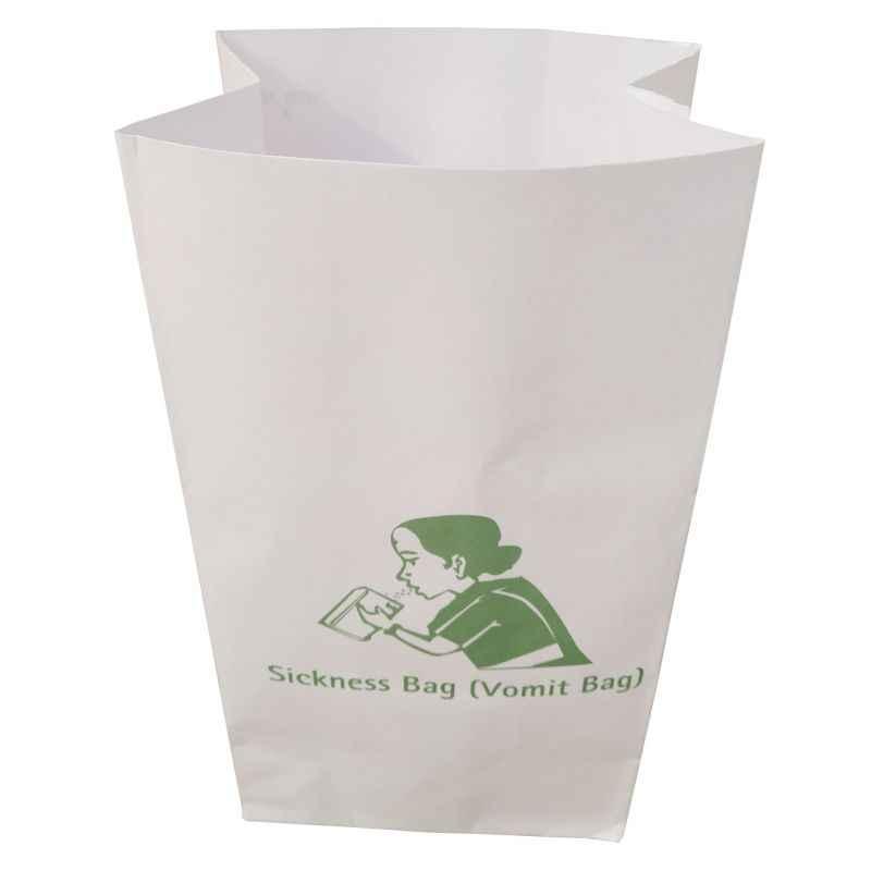 Shakuntla Disposable Sickness Bags/Vomit Bags (Pack of 25)
