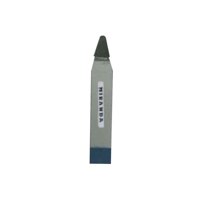 Miranda 16x10mm K20 Right Hand Tungsten Carbide Tipped Straight Round Nose Turning Tool, 1421SC, Length: 110mm