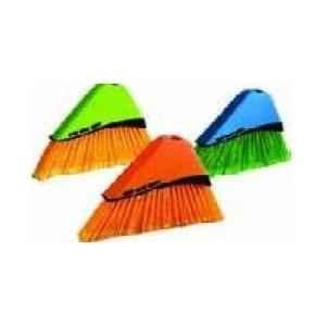 Amsse TB 1001 Orange Sweeping Broom With Handle-Tall Brooms