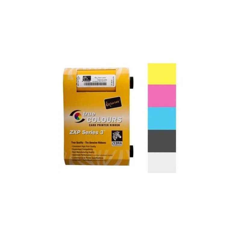 Zebra ZXP3 800033-336IS Golden Half Panel Color Ribbon