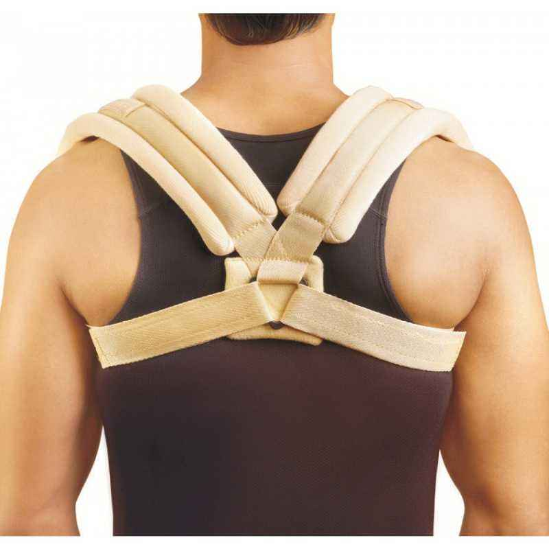 Turion RT25 Clavicle Brace for Collar Bone Injury Support, Size: M