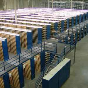 2 Layer Heavy Duty Metallic Racking System, Load Capacity: 500-3000 kg/Layer