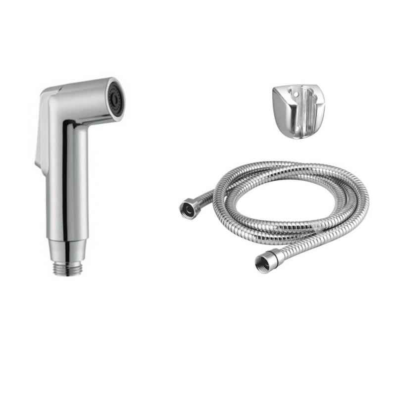 Kamal HFT-0423 Health Faucet Parry with PVC 1.5m Flexible Tube & Wall Hook