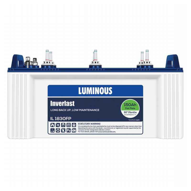 Luminous IL 1830FP 150Ah Flat Plate Battery