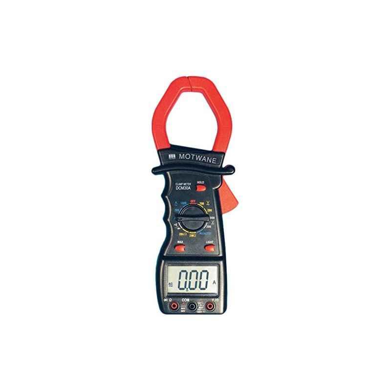 Motwane DCM30A Digital Clamp Meter with Test Certificate