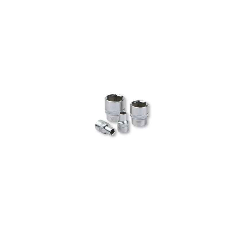 Groz 18mm 3/8 Inch Drive Hex Socket, SKT/H/3-8/18/UG