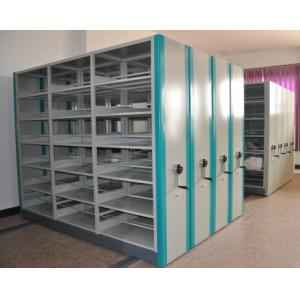 Space Planners Iron Mobile Compactor Storage System