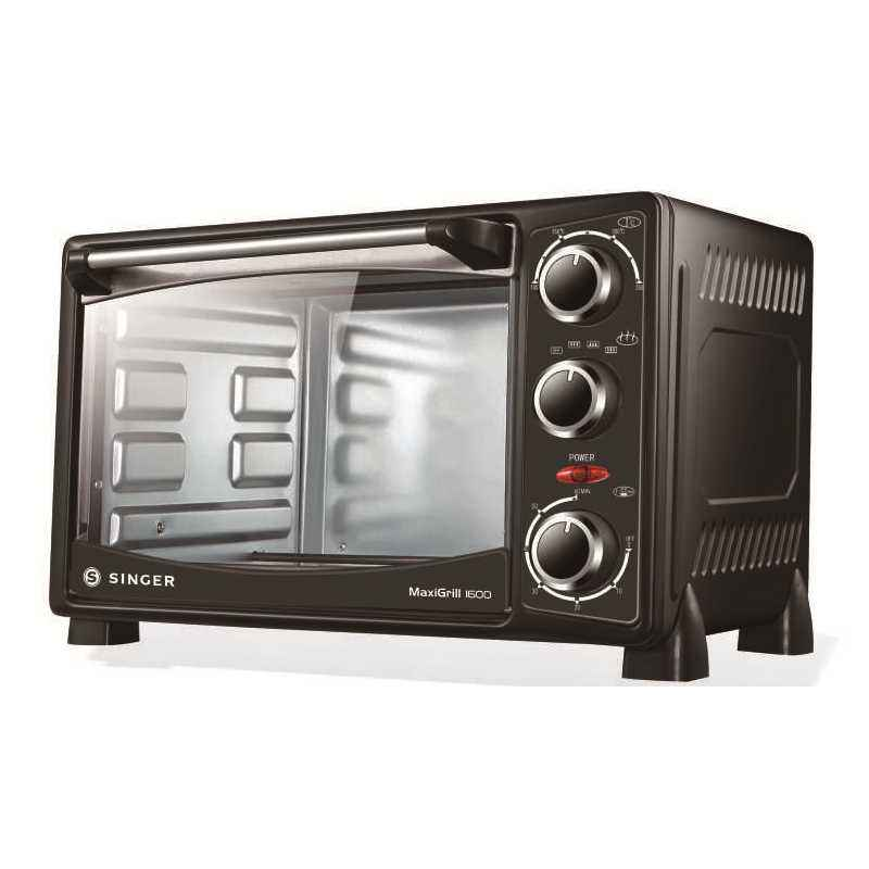 Singer 16 Litre MaxiGrill 1600 Electric Oven, Power: 1400 W