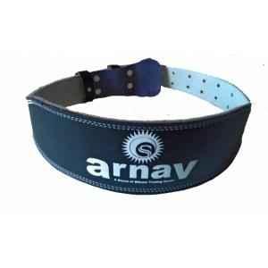 Arnav Weight Lifting Leather Gym Belt, OSB-700702M, Size: M