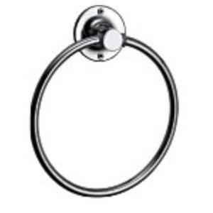 Bath Age Diamond Round Towel Rings, JRI 1308