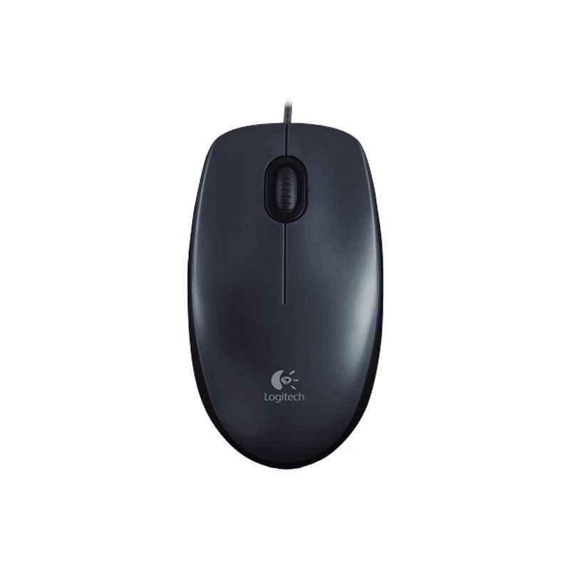 Logitech M100 Black USB Mouse