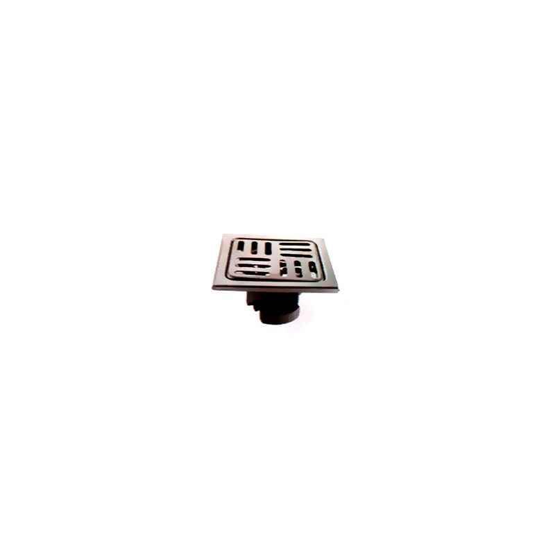 Jayna Lotus LSB 127 Anti-Scratch Floor Drain, Size: 127 x 127 mm