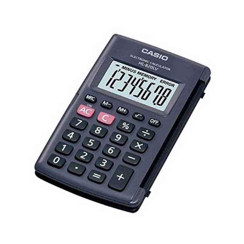 Casio HL-820LV Calculator (Pack of 2)