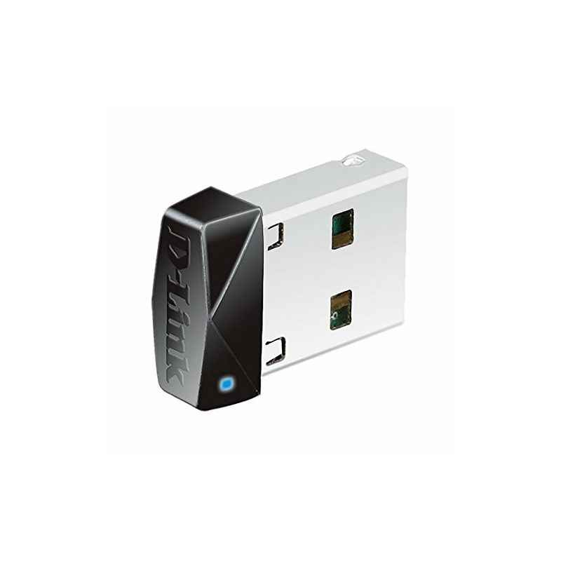 D-Link DWA-121 Black Wireless Network 150 Pico USB Adapter