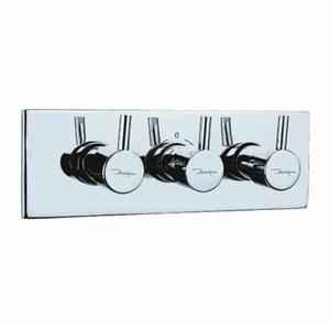 Jaquar FLR-CHR-5427N Florentine Concealed Divertor Bathroom Faucet