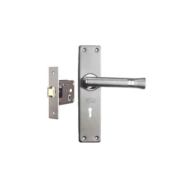 Plaza Ace Stainless Steel Finish Handle with 200mm Baby Latch Keyless Lock
