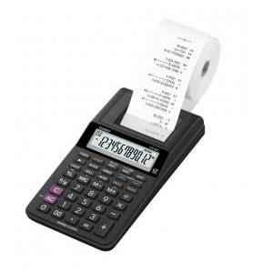 Casio Mini Portable Printing Calculator, HR-8RC-BK