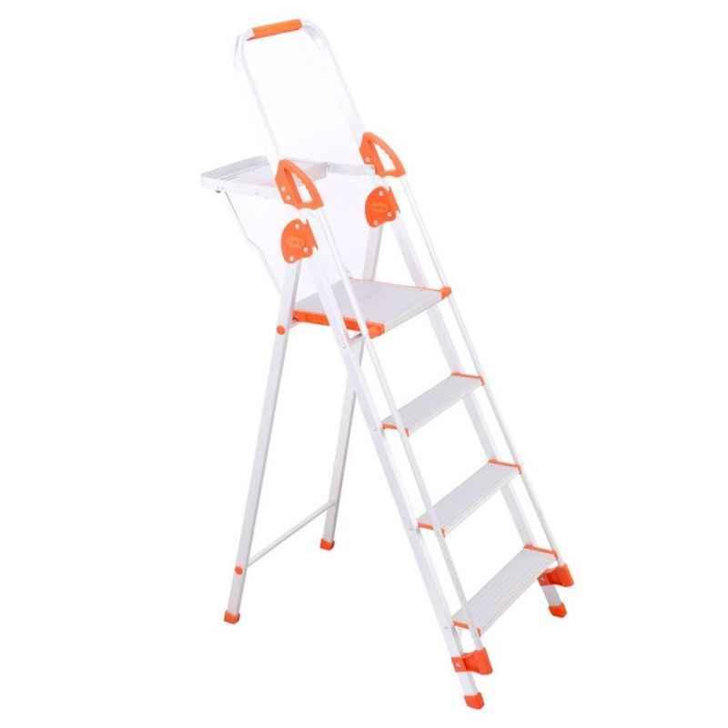 Bathla Sure 3 Step Titanium Plus Ladder with Pail Tray