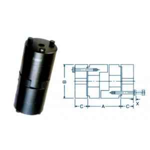 Fenner Essex Jaw Standard Spacer Coupling, Pilot Bore, Size: F0225S, DBES: 140 mm