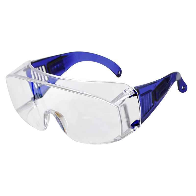 Karam Clear Lens Safety Goggles, ES 007 (Pack of 10)