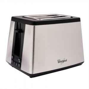 Whirlpool 2 Slices Digital Stainless Steel Pop up Toaster, TT22EUM0
