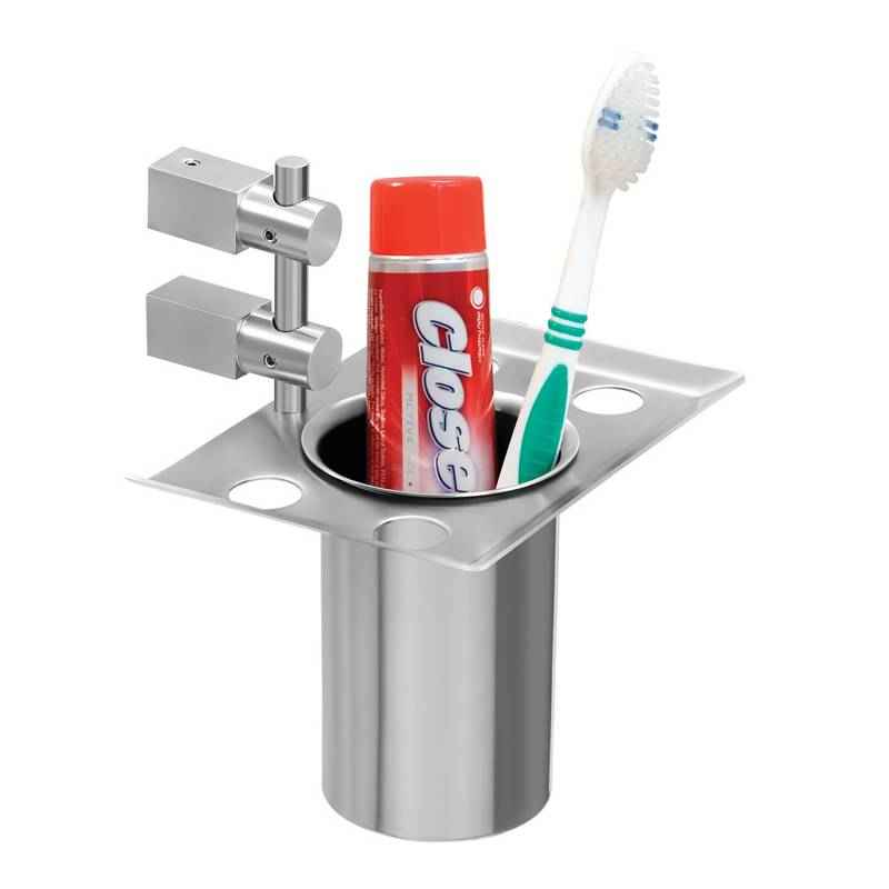 Doyours Tooth Brush Holder with SS Glass, GDBH-S43